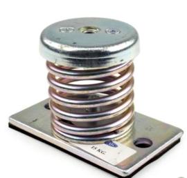 Universeel Trillingsdemper metalen AM-15 M veervoet 15kg M8 prijs per stuk