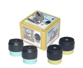 Vibratiekit voor airco buitenunits van 50 t/m 80 KG
