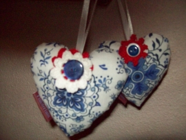 Fluistertuin Original Decoratief hart, zeer geschikt als speldenkussen