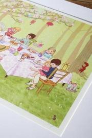 Belle & Boo print Ava`s Tea Party