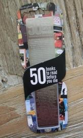 Boekenlegger 50 books to read before you die