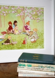 Belle & Boo print The Reading Group