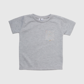 TEE | GREY SPIKKEL