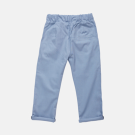 CHINO COTTON | DUSTY BLUE