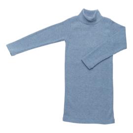 COLL DRESS RIB   BLUE