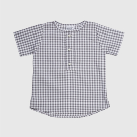 BLOUSE | GREY BLOCK