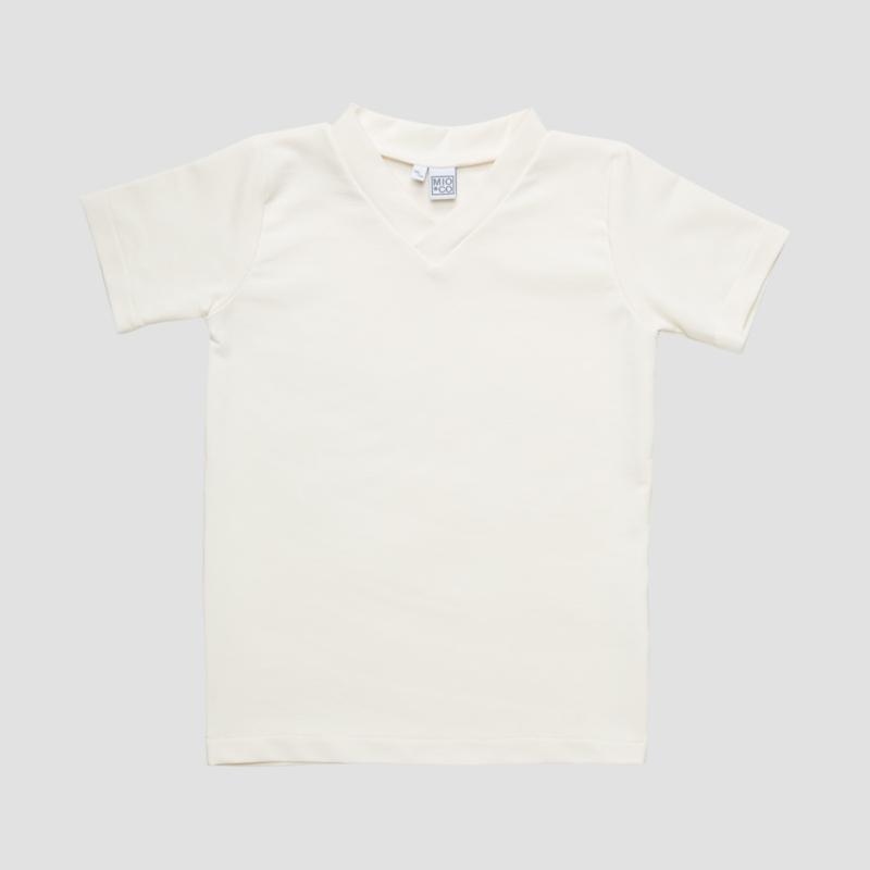 TEE V | WHITE