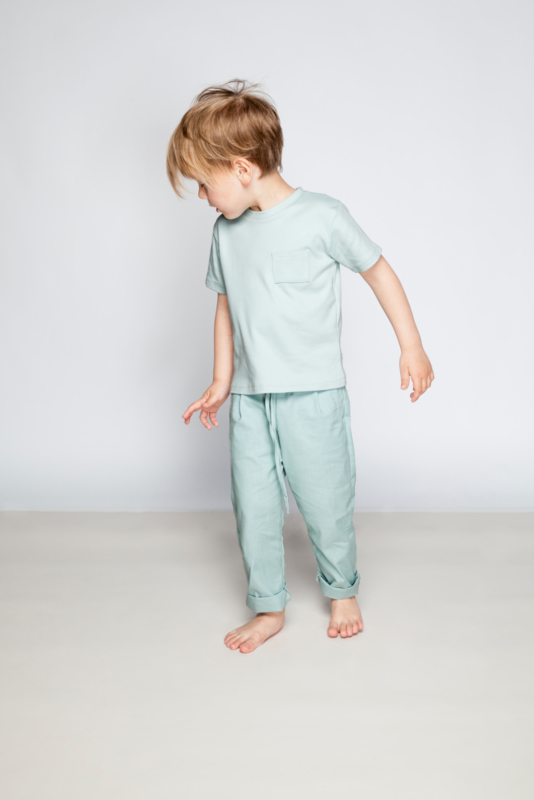 CHINO COTTON | DUSTY MINT
