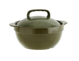 (oven)schaal met deksel, 1,3 ltr - groen