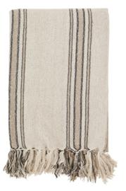 Plaid Stripe, ecru/zwart/zand