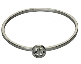 Armband Peace - zilver