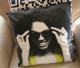 629304 Kussen Afro Lady