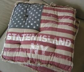Vintage Stars & Stripes Boxkussen