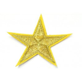 Patch Star - goud/geel
