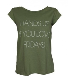 T-shirt Hands up - army