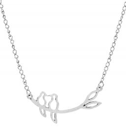 Ketting Doves - zilver