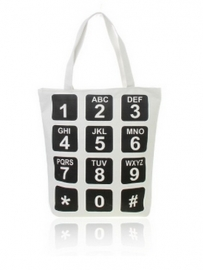 Shopper Phone - wit