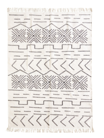 Vloerkleed - gestikt patroon