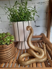 Beeld Snake, goud
