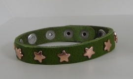 Armband Sterren - Olijf