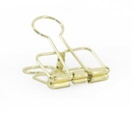 Binder clip - goud