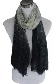 Sjaal Fade - donkerblauw