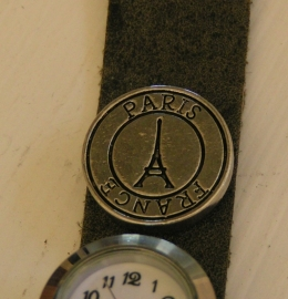 411 Clickbutton Paris - zilver