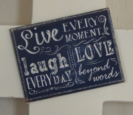 Magneet Live Laugh Love