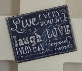 Magneet Live Laugh Love