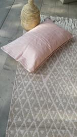 Vloerkleed Flair - roze/zand