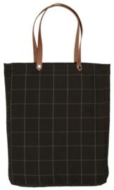 Tas Checkered - zwart
