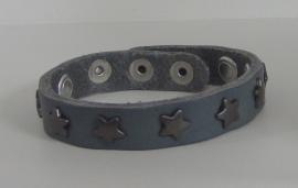 Armband Sterren - grijs/zilver