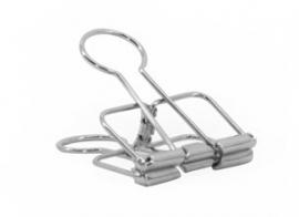 Binder clip - zilver