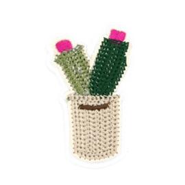 Patch Cactus - beige/groen