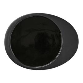 Dinerbord Gitte - zwart