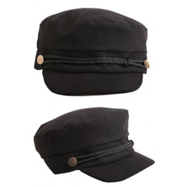 Sailor Cap - zwart