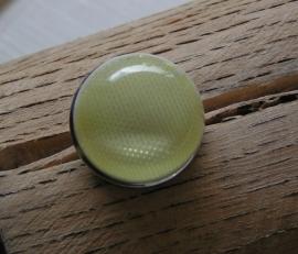 110 Clickbutton - lichtgeel