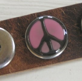 701 Clickbutton Peace- roze