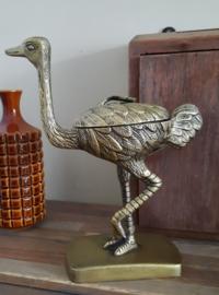 Beeld Struisvogel, brons