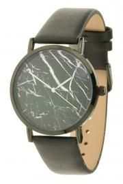 Horloge Marble - zwart