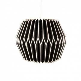 Lampenkap Paper - zwart/wit