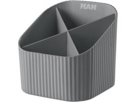 Pennenbak/opberger X - grijs