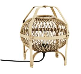 Rattan/bamboe tafellamp