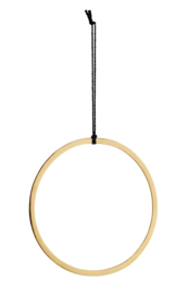 Hangende ring, goud