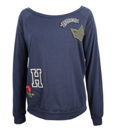 Longsleeve Amy - navy