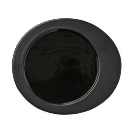 Ontbijtbord Gitte - zwart