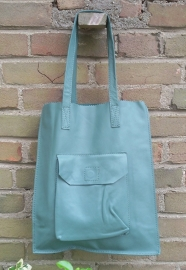Leren tas The Bag