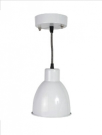 0498-2 Hanglamp metal, wit