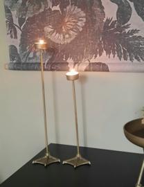 Kandelaar Eendenpoot, brons - L