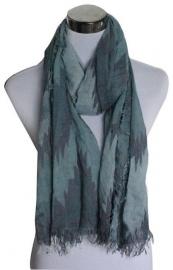 Sjaal Chevron - blauw